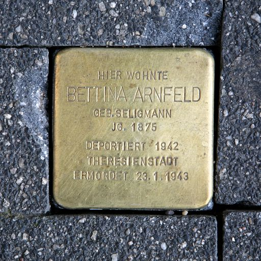Stolperstein for Bettina Seligmann Arnfeld