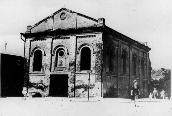 Tarnobrzeg synagogue old photo
