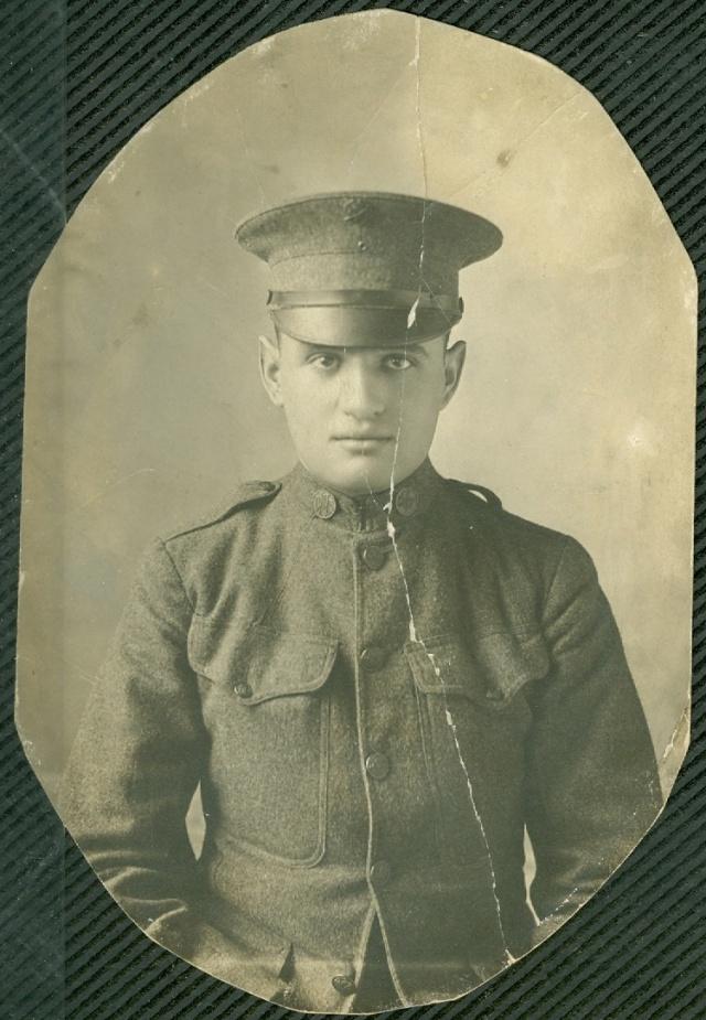 Leo Seligman World War I courtesy of Steve Seligman