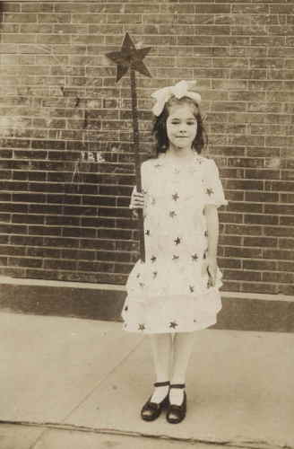 Marion Seligman as a young girl photo courtesy of Chip Bennett