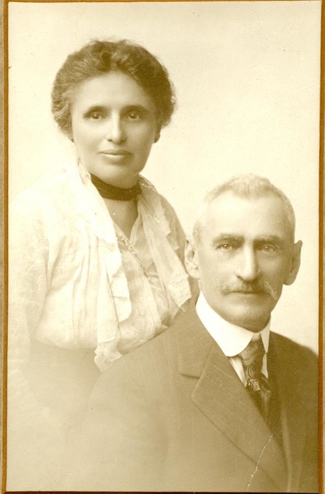 Sigmund Seligman and Charlotte Koppel Seligman