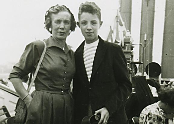 Aunt Rose with Paul Barton Cohn