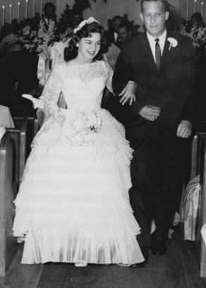 Bob and June's wedding