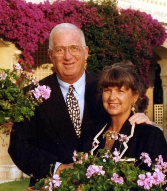 Bob and June Cohn in more recent days Photo courtesy of Bob Cohn