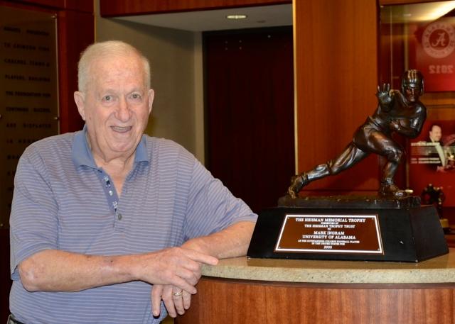 Bob Cohn with trophy