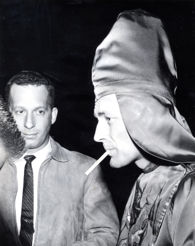 Bob Cohn and Bobby Shelton, Imperial Wizard of the KKK, Montgomery, Alabama