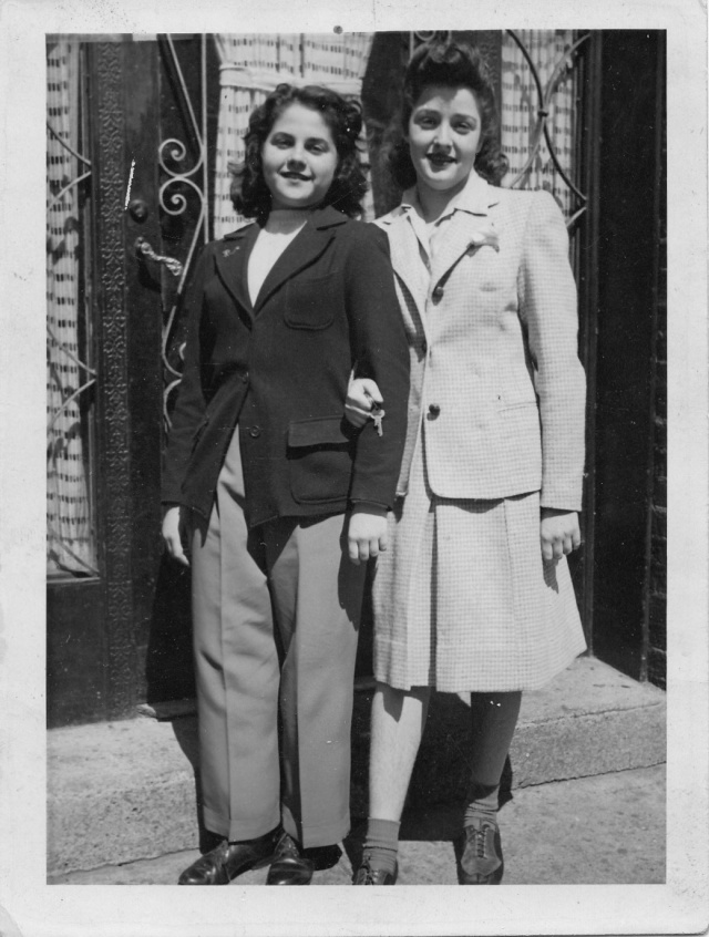 Beatty and my mother c. 1940