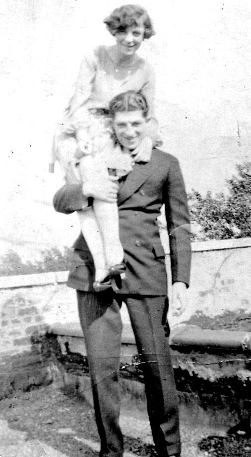 Harold and Teddy 1926