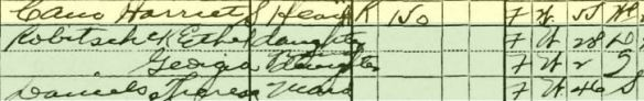 Harriet Schlesinger Cain 1930 US census Year: 1930; Census Place: Manhattan, New York, New York; Roll: 1557; Page: 12B; Enumeration District: 0465; Image: 685.0; FHL microfilm: 2341292