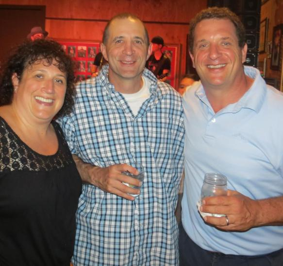 Jennifer, Todd and Harris Barton Photo courtesy of Bob Cohn