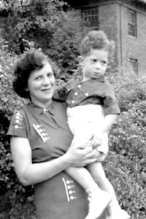 Mom and Robert, 1937