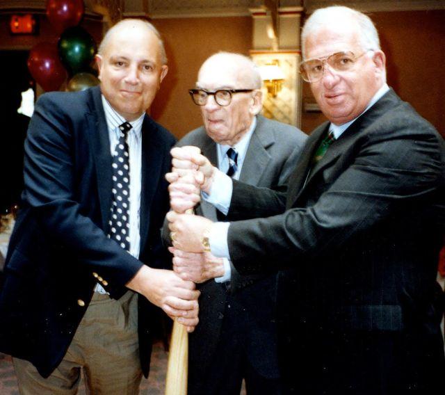 Paul C. Barton, Barney Klemenko, and Bob Cohn Photo courtesy of Bob Cohn