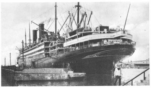 The George Washington, the ship that Lotte and her parents sailed on to the US in 1939 Ancestry.com. Passenger Ships and Images [database on-line]. Provo, UT, USA: Ancestry.com Operations Inc, 2007. Original data: Various maritime reference sources.