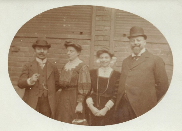 Samuel, Laura, and Anna Winter and Jakob Seligmann