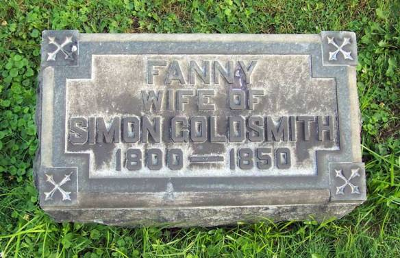 Fanny Schoenthal Goldsmith Troy Hill Pittsburgh