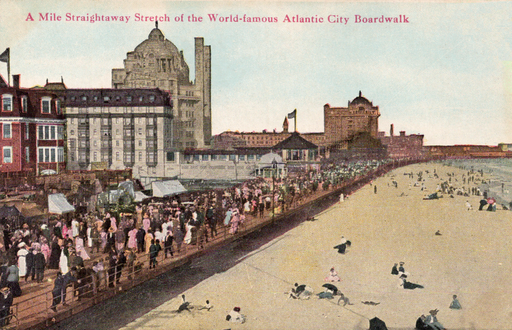 Atlantic City https://commons.wikimedia.org/wiki/File%3AA_mile_of_the_Atlantic_City_boardwalk%2C_Atlantic_City%2C_NJ.png