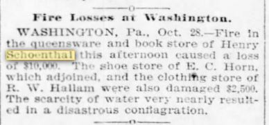 Pittsburgh Daily Post, October 29, 1895, p.4