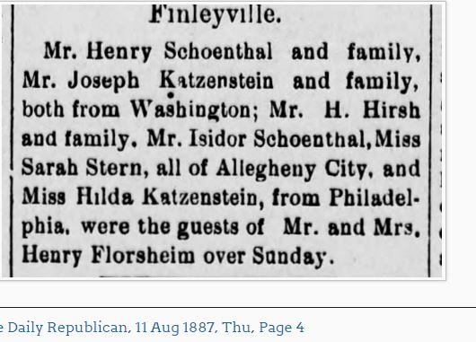 The Daily Republican (Monongahela, Pennsylvania) 11 Aug 1887, Thu • Page 4