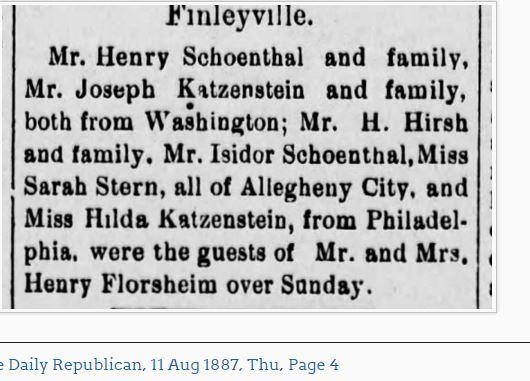 The Daily Republican (Monongahela, Pennsylvania) 11 Aug 1887, Thu • Page 4