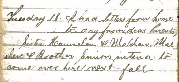 Henry Schoenthal diary p 11