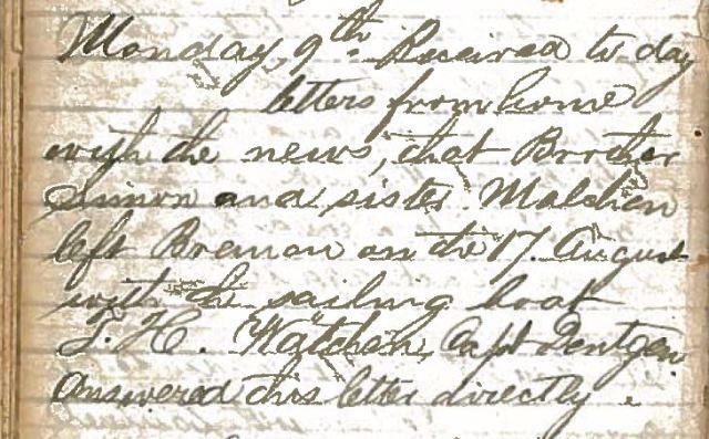 Henry Schoenthal diary p 13