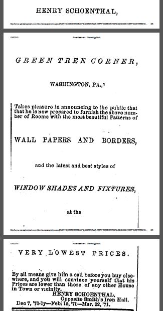 Advertisement Date: Wednesday, June 7, 1871 Paper: Washington Reporter (Washington, Pennsylvania) Volume: LXIII