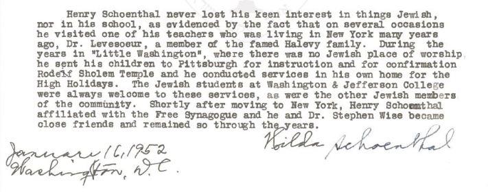 HIlda bio of Henry Schoenthal p 3