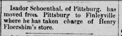 The Daily Republican (Monongahela, Pennsylvania) 8 Nov 1889, Fri • Page 1