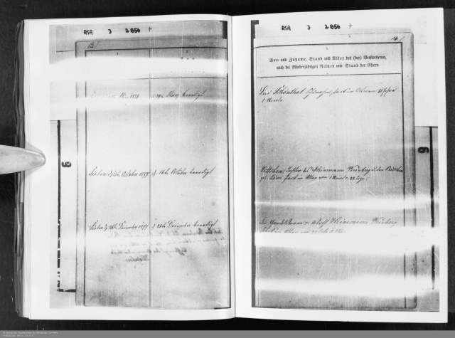 Levi Schoenthal death record March 1874 HHStAW Abt. 365 Nr. 773, S. 9