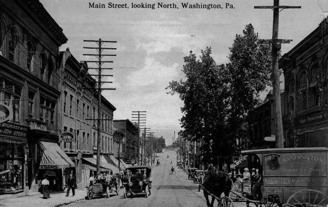 Main Street, Washington, PA http://www.washingtonpa.us/washingtons-past/