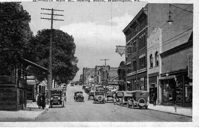 North Main Street, Washington, PA http://www.washingtonpa.us/washingtons-past/
