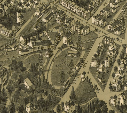 Washington, PA 1897 By Thaddeus Mortimer Fowler & James B. Moyer [Public domain], via Wikimedia Commons
