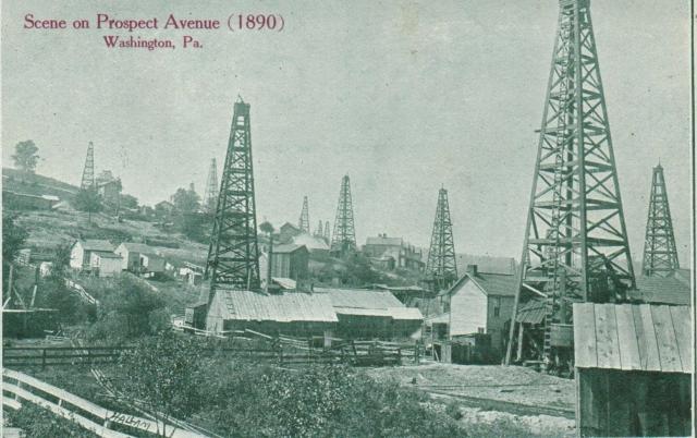 Prospect Avenue, Washington, PA 1890 http://www.washingtonpa.us/washingtons-past/