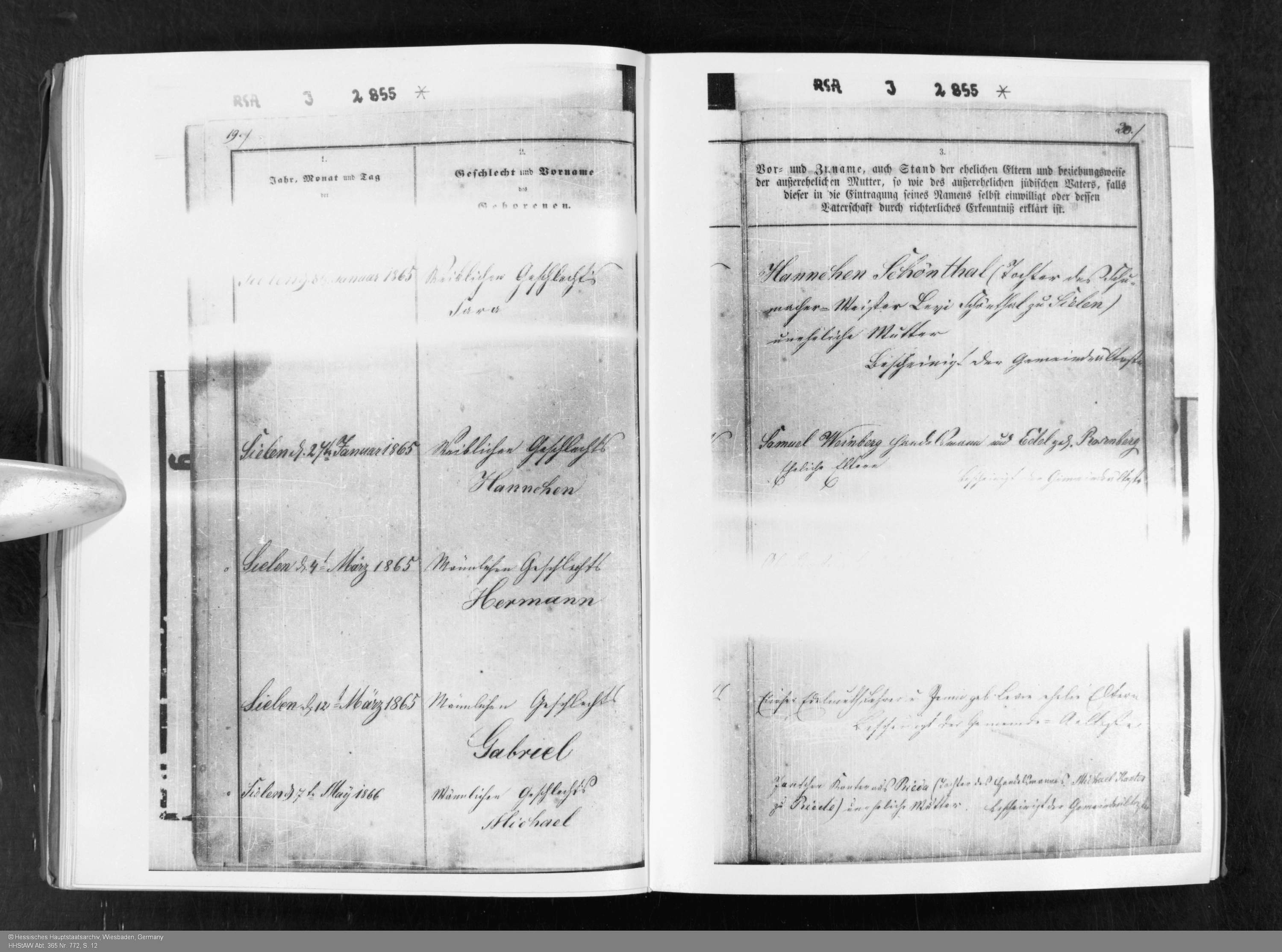 Marriage brotmanblog a family journey sara schoenthal birth record hhstaw abt 365 nr 772 s 12 aiddatafo Gallery