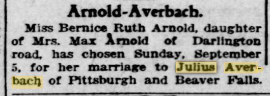 Pittsburgh Post Gazette August 29, 1926 p. 44