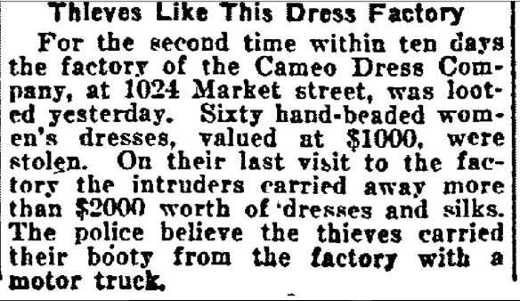 Philadelphia Inquirer, June 25, 1921, p 3