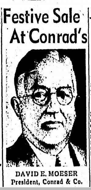David Moeser Boston Daily Record, November 4, 1955, p. 53