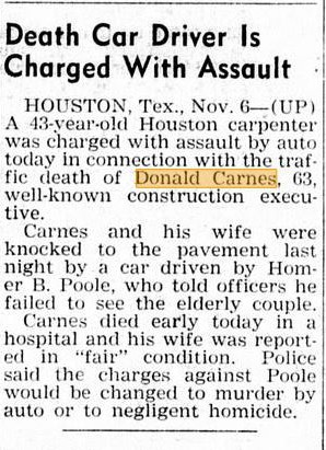 Donald Carnes accident