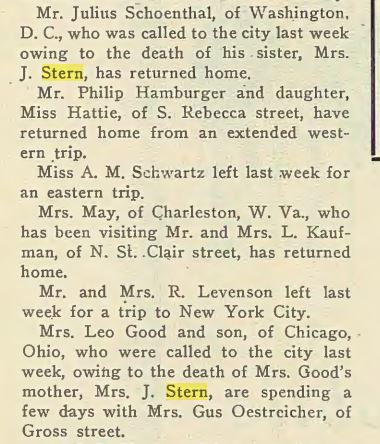 Jewish Criterion, May 28, 1915 http://digitalcollections.library.cmu.edu/portal/service.jsp?awdid=1&smd=1#
