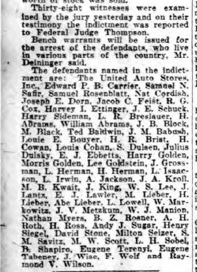 Philadelphia Inquirer, February 10, 1925, p. 2