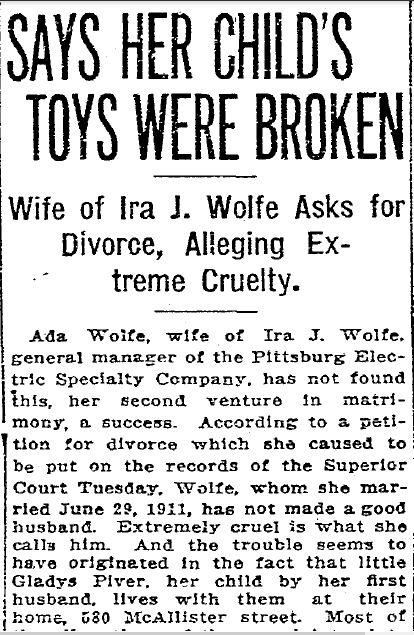 Ira Wolfe divorce 2