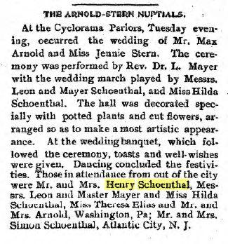 Jennie Stern wedding