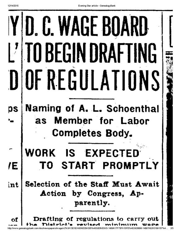 Arthur L Schoenthal to Wage Board 1937-page-002