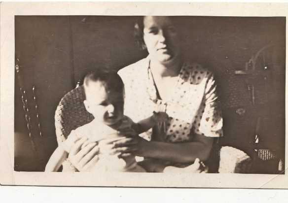 My father and his mother, Eva Schoenthal Cohen, c. 1927