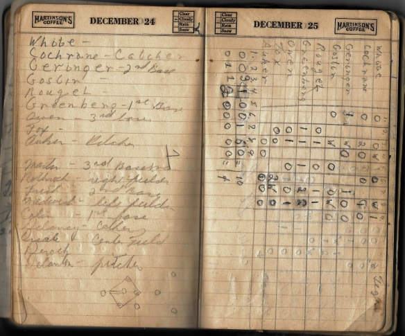 Grandpa notebook 15 box score