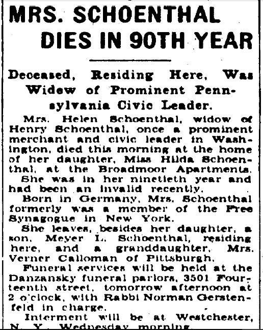 Washington Evening Star, October 11, 1937, p. 12
