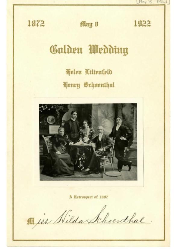 http://www.jewishfamilieshistory.org/document/schoenthal-golden-wedding/?post_id=2664