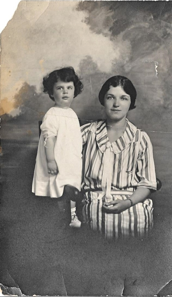 My aunt Eva Hilda Cohen and my grandmother Eva Schoenthal Cohen, c. 1925