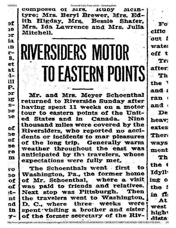 Riverside Daily Press, August 5, 1929, p. 4