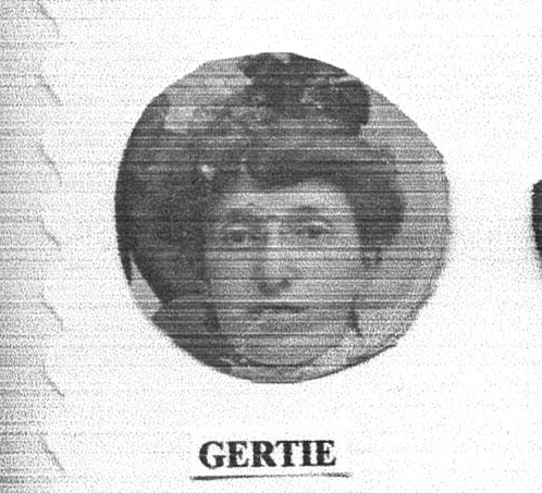 Gertrude Schoenthal Miller Courtesy of the family of Hettie Schoenthal Stein